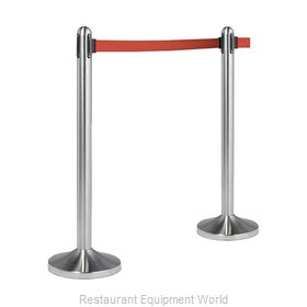 American Metalcraft RSRTRD Crowd Control Stanchion (Portable)