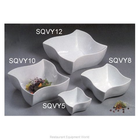 American Metalcraft SQVY12 China, Bowl, 97 oz & larger