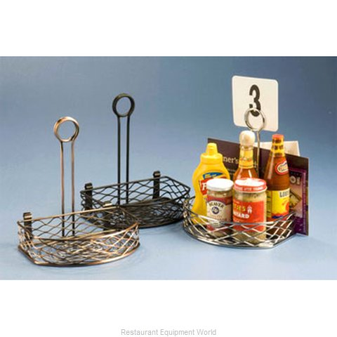 American Metalcraft SRBNB1 Condiment Caddy, Rack Only