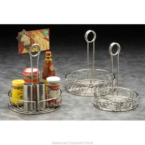 American Metalcraft SSCC6 Condiment Caddy, Rack Only