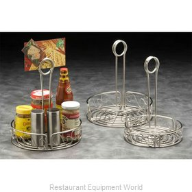 American Metalcraft SSCC7 Condiment Caddy, Rack Only