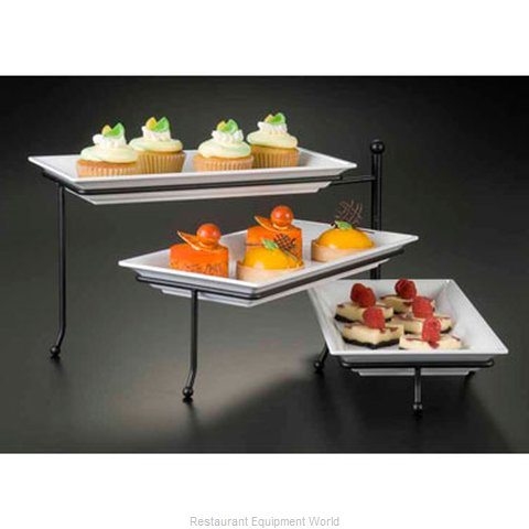 American Metalcraft TTMEL3 Tiered Display Server Stand
