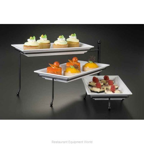 American Metalcraft TTREC3 Tiered Display Server Stand