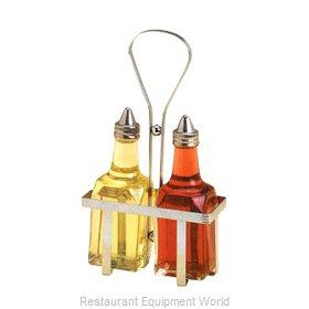 American Metalcraft VBR1 Oil & Vinegar Cruet, Rack
