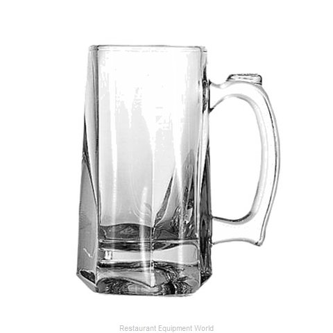 Anchor Hocking 1170U Glass, Beer (Magnified)