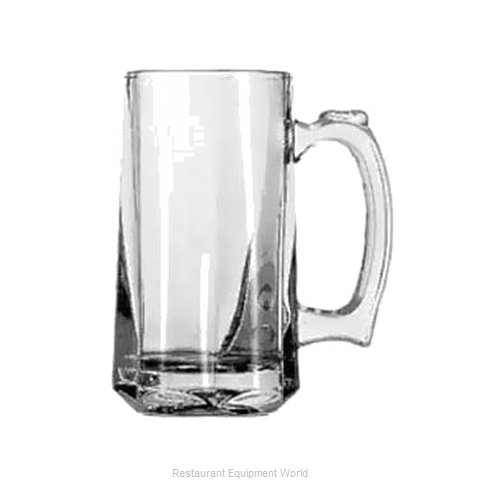 Anchor Hocking 1172U Glass, Beer (Magnified)