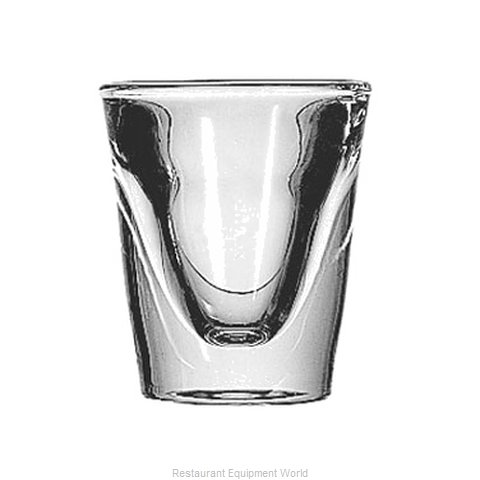 Anchor Hocking 3667EU Glass, Shot / Whiskey (Magnified)