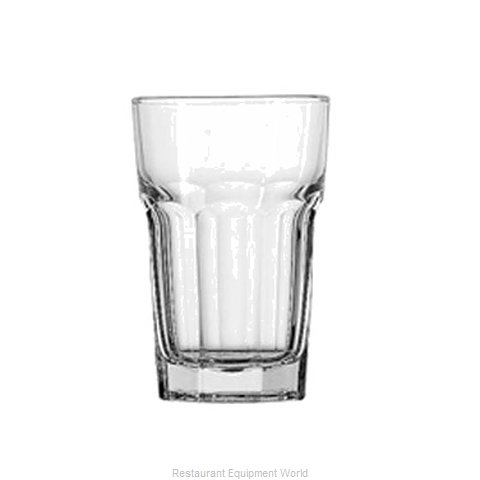 Anchor Hocking 7730U Glass, Water / Tumbler (Magnified)