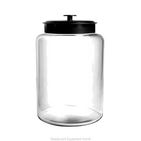 Anchor Hocking 88908 Storage Jar / Ingredient Canister, Glass (Magnified)