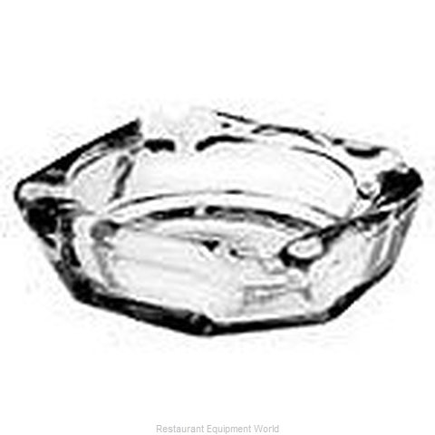 Anchor Hocking 143U Glass Ashtray (Magnified)