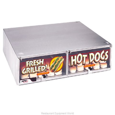 APW Wyott BC-50D Hot Dog Bun Box