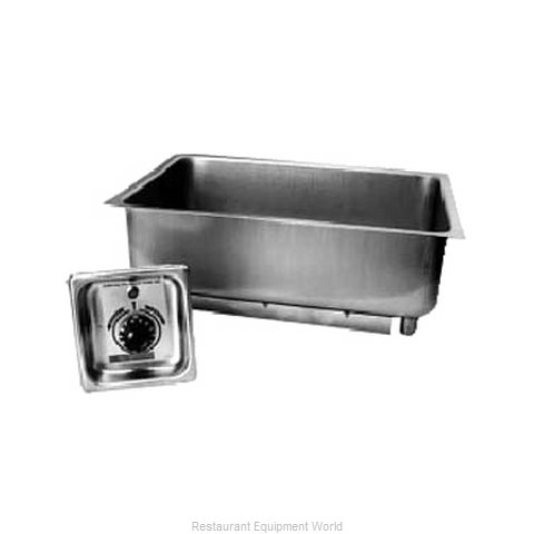 APW Wyott BM-30 Hot Food Well Unit, Built-In, Electric (Magnified)
