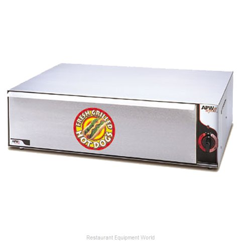 APW Wyott BW-31 Hot Dog Bun / Roll Warmer