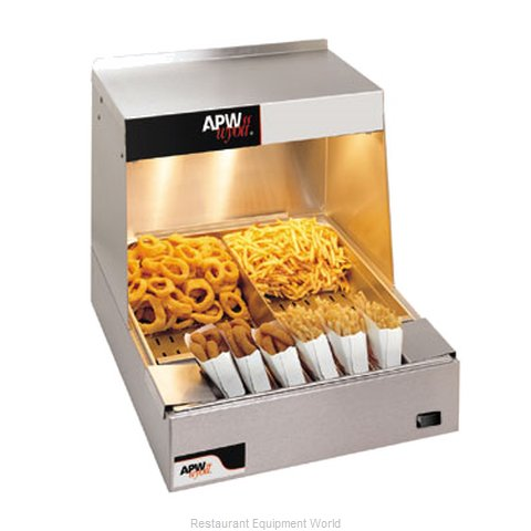 APW Wyott CFHS-21 Fry Holding Station (Magnified)