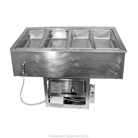 APW Wyott CHDT-3 Hot / Cold Food Well Unit, Drop-In, Electric