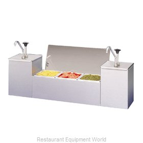 APW Wyott CSS-DTS-2 Condiment Serving Station