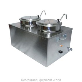 APW Wyott CWM-2SP Food Pan Warmer/Rethermalizer, Countertop
