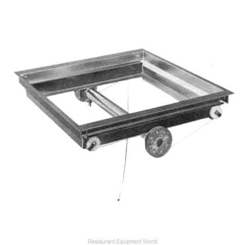 APW Wyott DI-1418 Dispenser Tray Rack