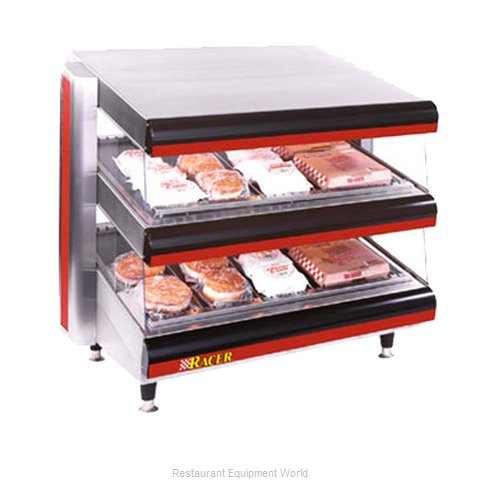 APW Wyott DMXD-36H Display Merchandiser, Heated, For Multi-Product (Magnified)