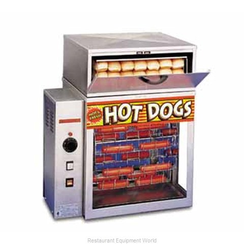 APW Wyott DR-1A Hot Dog Broiler Rotisserie Type
