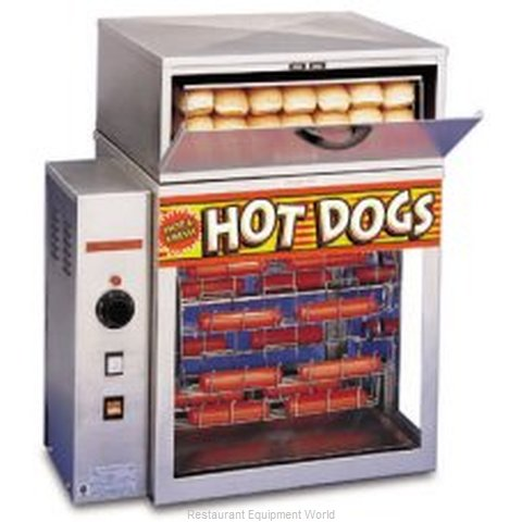 APW Wyott DR-2A Display Broiler and Bun Heater