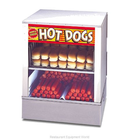 APW Wyott DS-1A Hot Dog Steamer (Magnified)