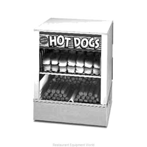 APW Wyott DS-1AP Hot Dog Steamer and Bun Warmer