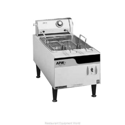 APW Wyott EF-15IN Fryer Counter Unit Electric Full Pot (Magnified)