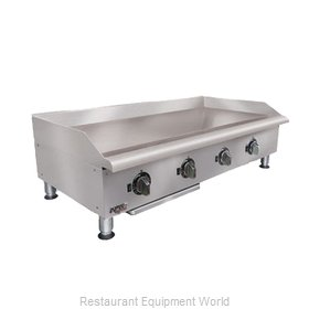 APW Wyott EG-48I-CE Griddle Counter Unit Electric