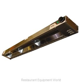 APW Wyott FD-24H-I Heat Lamp, Strip Type