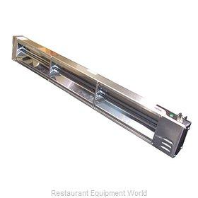 APW Wyott FD-42L-T Heat Lamp, Strip Type