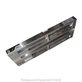 APW Wyott FDD-30H-T Heat Lamp, Strip Type