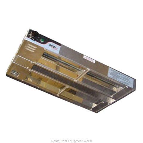 APW Wyott FDD-30L-I Heat Lamp, Strip Type