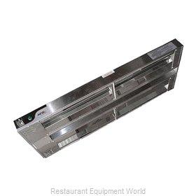 APW Wyott FDD-66H-T Heat Lamp, Strip Type
