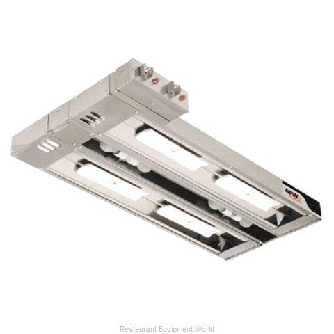 APW Wyott FDDC-18L-R Heat Lamp, Strip Type