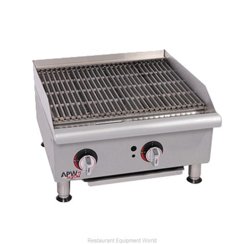 APW Wyott GCB-18I-CE Charbroiler Gas Counter Model