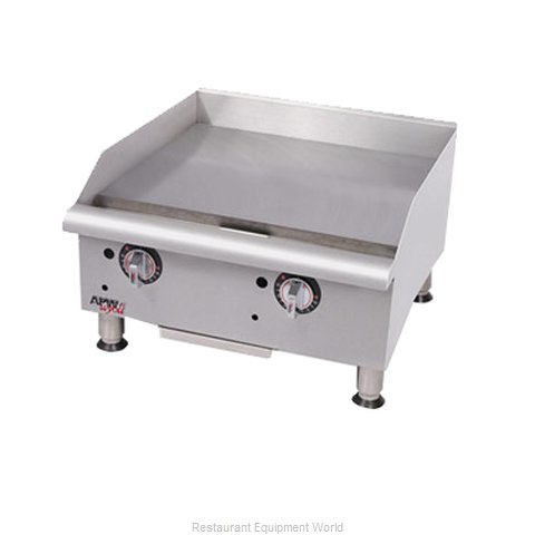 APW Wyott GGM-24I-CE Griddle Counter Unit Gas (Magnified)