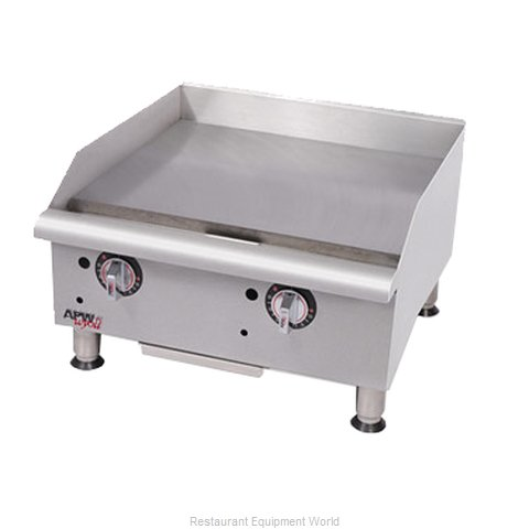 APW Wyott GGT-24I-CE Griddle, Gas, Countertop