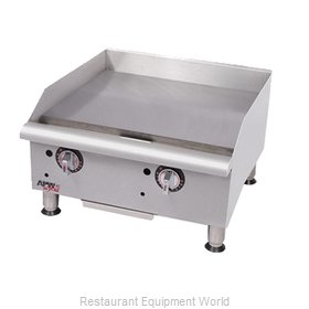 APW Wyott GGT-24I Griddle, Gas, Countertop