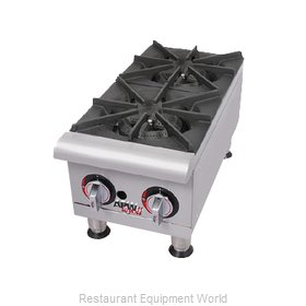 APW Wyott GHP-2I Hotplate Counter Unit Gas