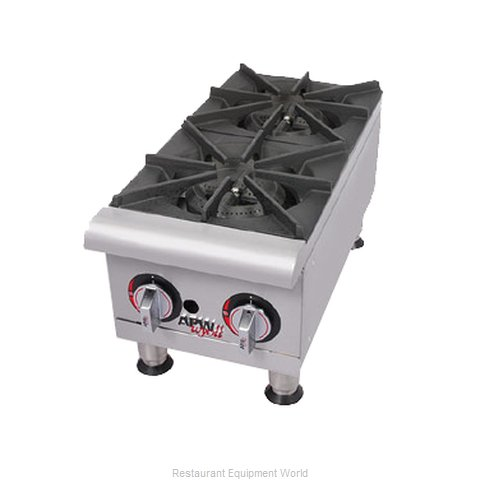 APW Wyott GHP-6I Hotplate Counter Unit Gas (Magnified)