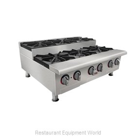 APW Wyott GHPS-2I Hotplate Counter Unit Gas