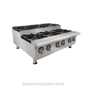 APW Wyott GHPS-4I Hotplate, Countertop, Gas