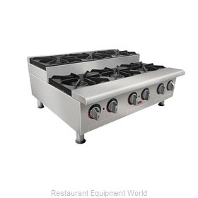 APW Wyott GHPS-6I Hotplate Counter Unit Gas
