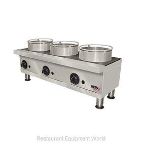 APW Wyott GHPW-3I Hotplate, Countertop, Gas
