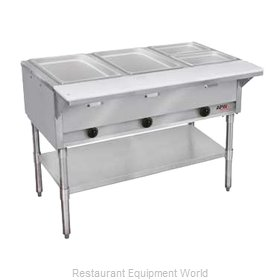 APW Wyott GST-2-NG Serving Counter Hot Food Steam Table Gas