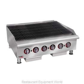 APW Wyott HCRB-2472 Charbroiler