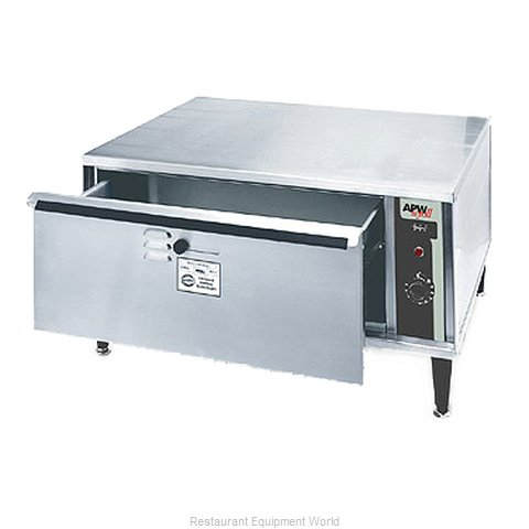APW Wyott HDDIS-1 Warming Drawer, Free Standing (Magnified)