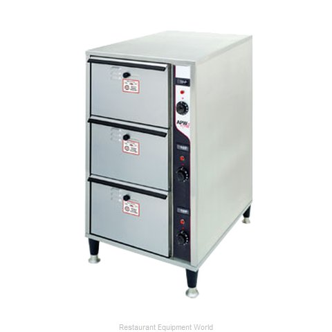 APW Wyott HDDIS-3 Warming Drawer Free Standing (Magnified)