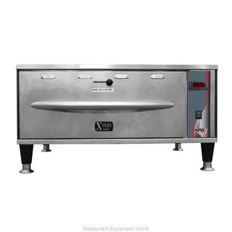 APW Wyott HDXI-2 Warming Drawer Free Standing (Magnified)